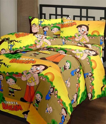 Ayushi Craft & Fashions Cartoon Single Blanket Multicolor(Fleece Blanket, AC Blanket)