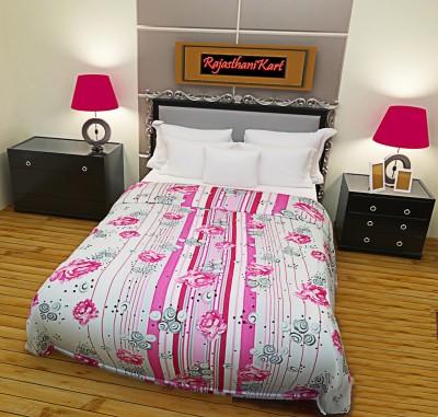 RajasthaniKart Printed Single Blanket Multicolor