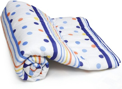 CocoBee Polka Single Quilts & Comforters White