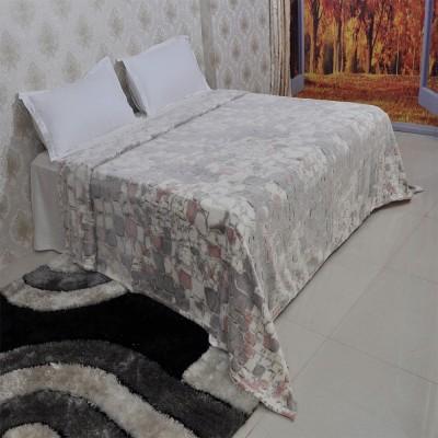 Welhouse India Abstract Double Blanket Grey