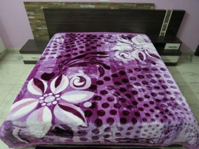 Florida Geometric Double Blanket Purple