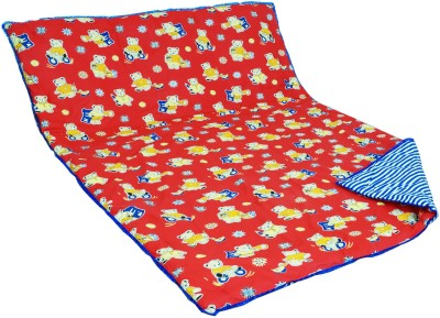 Aurraa Printed Single Quilts & Comforters Red