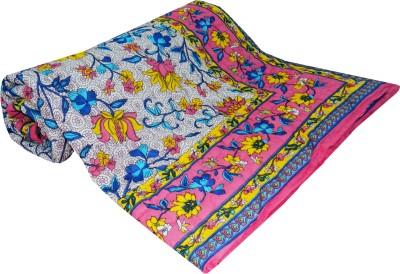 Shop Rajasthan Floral Single Quilts & Comforters Multicolor