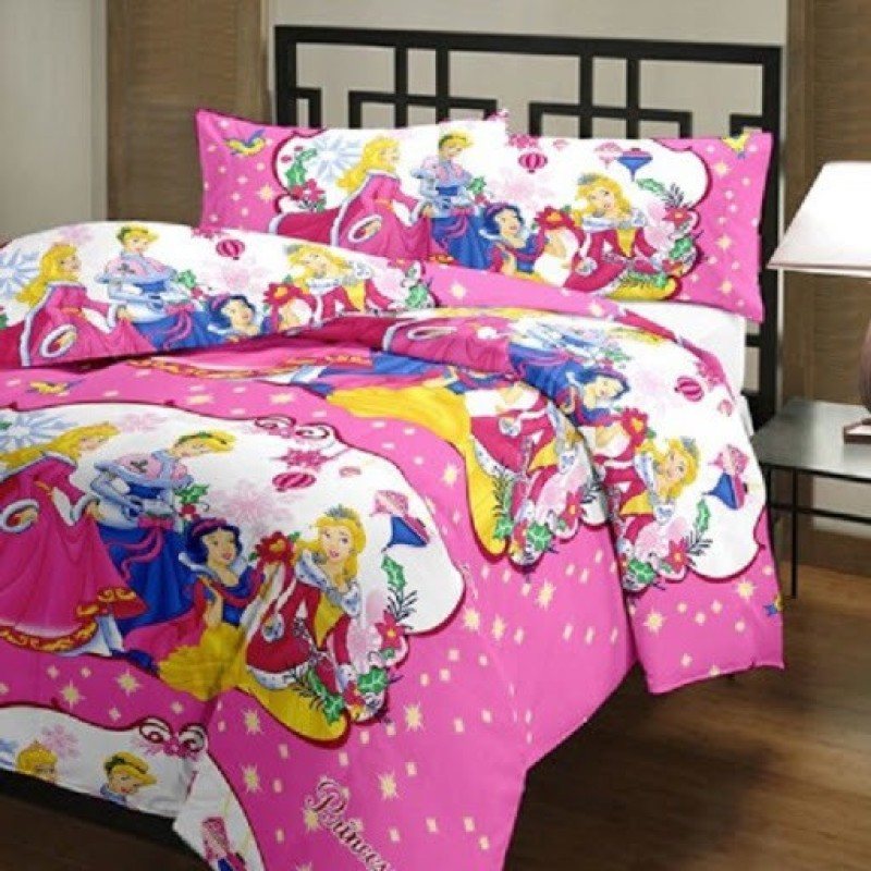 D & D Crafts Cartoon Single Quilts & Comforters Multicolor(1 Kids Dohar (Quilt))