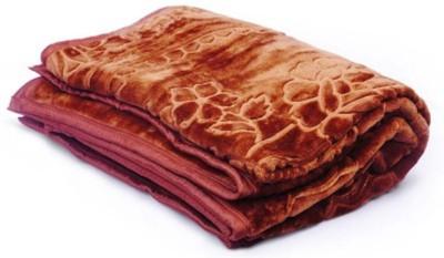 Monil Floral Single Dohar Brown