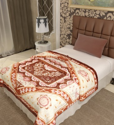 Home Candy Floral Single Blanket Multicolor