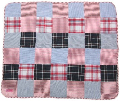 Always Kids Plain Crib Quilts & Comforters Red Check