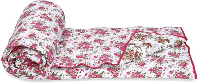 Ctm Textile Mills Floral Single Quilts & Comforters Multicolor(1 Comforter)