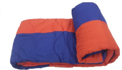 Portico New York Plain Double Quilts & Comforters Red, Royal Blue