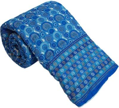 Kiran Udyog Floral Double Quilts & Comforters Blue