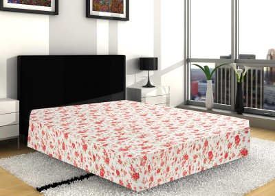 Sangreh Floral Double Dohar White, Red