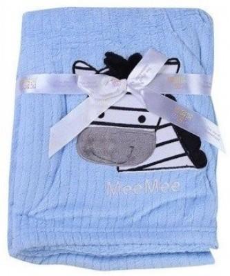 MeeMee Animal Single Blanket Blue