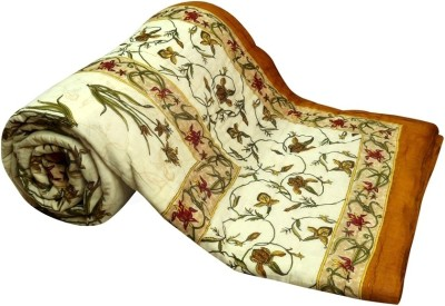 Buy Clues Floral Single Quilts & Comforters Multicolor