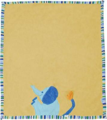Abracadabra Embroidered Single Blanket Yellow