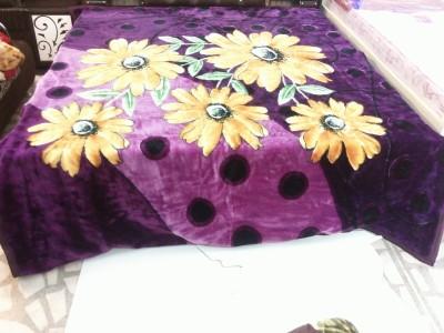 Kurlon Floral Double Blanket Multi Colour