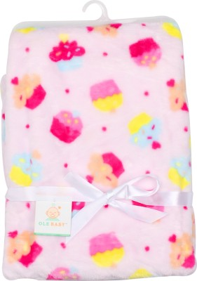 Ole Baby Cartoon Single Blanket Pink