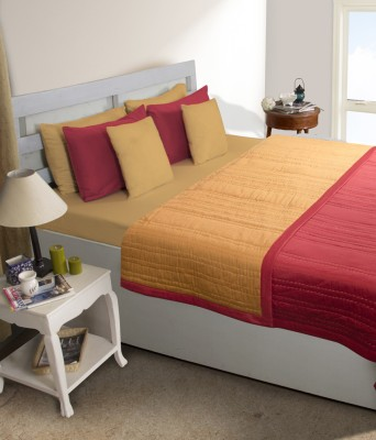 House This Checkered Double Dohar Red