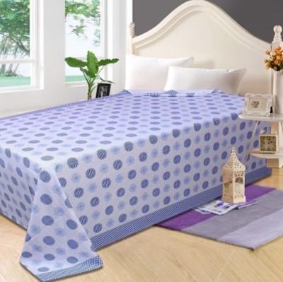 Fabriclair Floral Single Top Sheet Blue