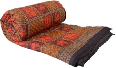 Ruchiworld Checkered Double Quilts & Comforters Multicolor