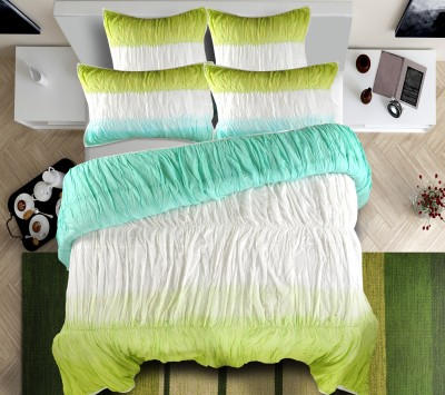 Shahenaz Home Shop Plain King Quilts & Comforters Turquoise / Green