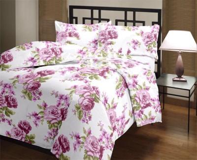 Factorywala Floral Single Dohar Pink