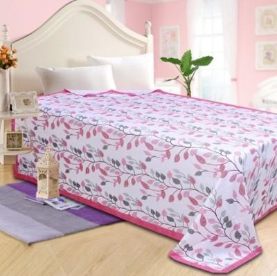 Fabriclair Floral Single Top Sheet Pink