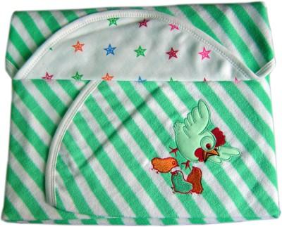 Tiny Care Plain Single Blanket Green