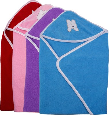 Utc Garments Plain Single Blanket Light Blue, Purple, Pink, Red, White