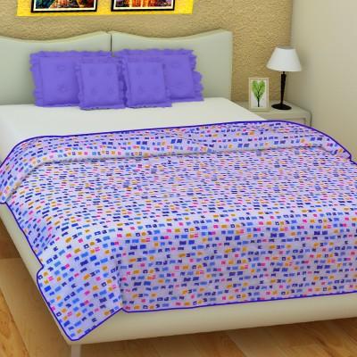 SLEEP N DREAM Geometric Single Dohar Blue