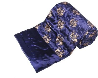 Jaipurtextilehub Animal Double Quilts & Comforters Blue