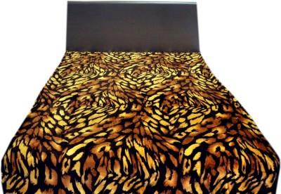 Valtellina Animal Single Blanket Black