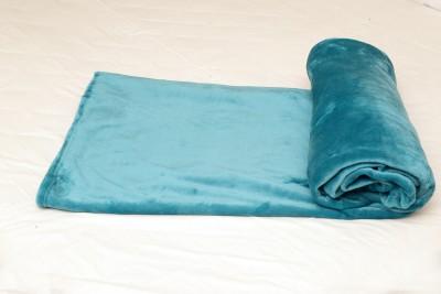 Tima Plain Single Blanket Light Blue