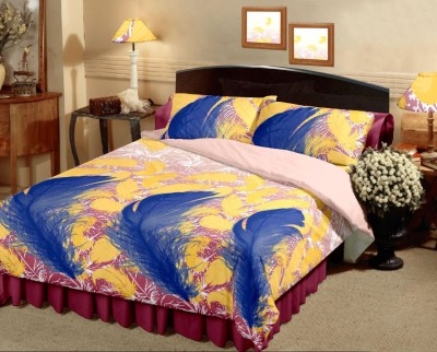 Raymond Home Floral Double Quilts & Comforters Yellow