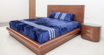 decor muse Striped King Blanket Blue