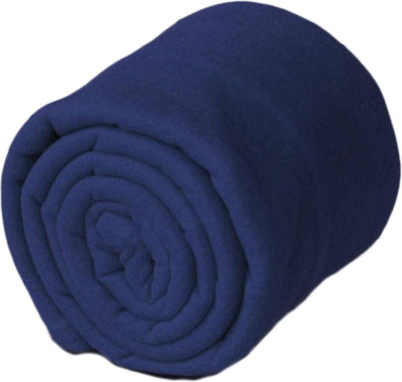 GOYAL FASHION Plain Double Blanket Blue