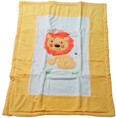 Baby Basics Cartoon Single Blanket Multicolor