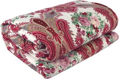 Gujattire Floral Double Quilts & Comforters Multicolor