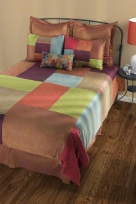Rizzy Home Geometric Multicolor