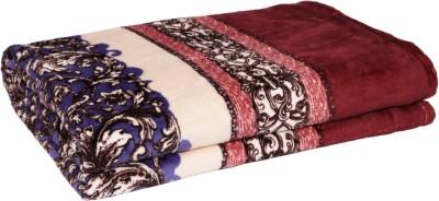 Gujattire Paisley Double Blanket Multicolor