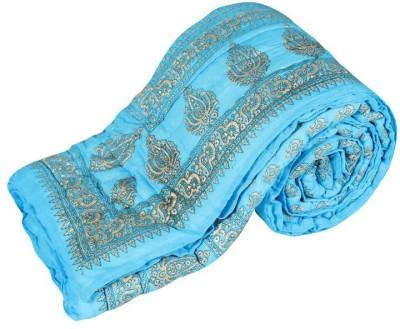 Krg Enterprises-R009 Floral Single Quilts & Comforters Multicolor