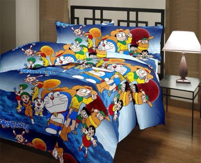 Fresh From Loom Cartoon Double Top Sheet Multicolor