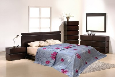 Wrap Floral Double Quilts & Comforters Grey