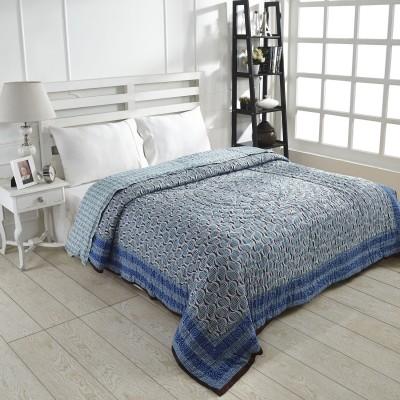 Ratan Jaipur Printed Queen Quilts & Comforters Green