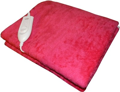 Expressions Plain Single Electric Blanket Pink