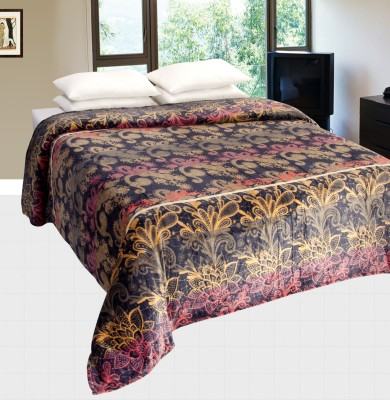 Nite N Day Floral Double Quilts & Comforters Multicolor