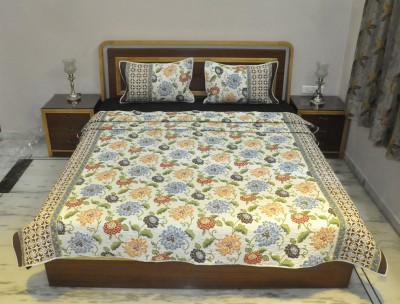 Lal Haveli Floral Queen Quilts & Comforters Multicolor