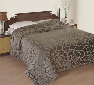 Zyne Abstract Single Quilts & Comforters Brown