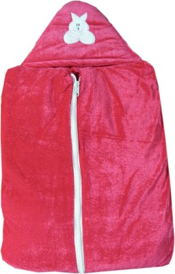 Prayag Plain Single Blanket Dark pink