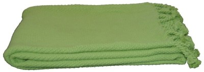 Loomkart Plain Single Throw Green