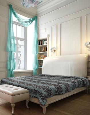 Needlecrest Floral Single Quilts & Comforters Blue, Brown